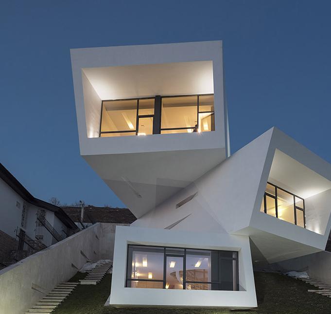 Three views house tehran