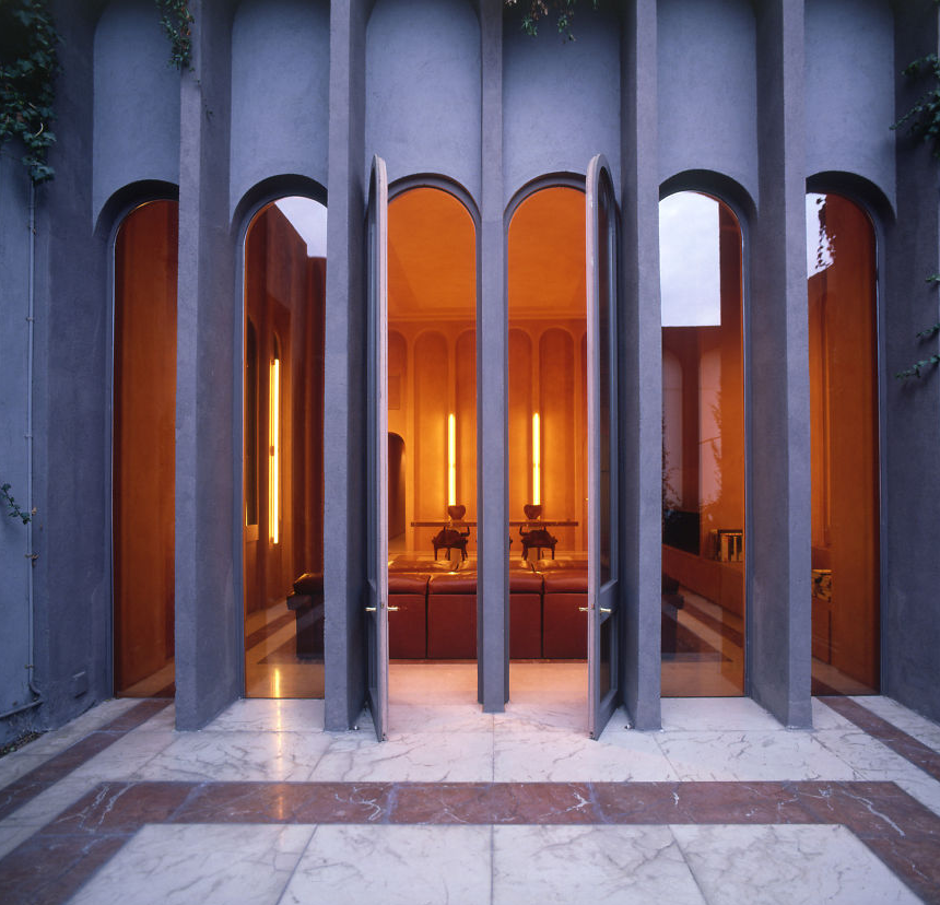 Architect turns old cement factory into his home